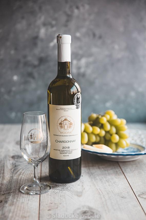 Chardonnay - AOV biele neskorý zber suché 0.75 l
