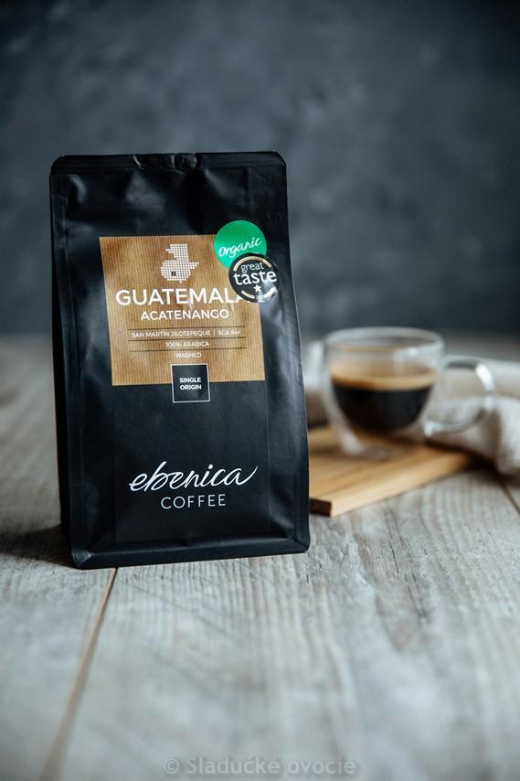 Káva Ebenica Guatemala Acatenango zrnková 220 g