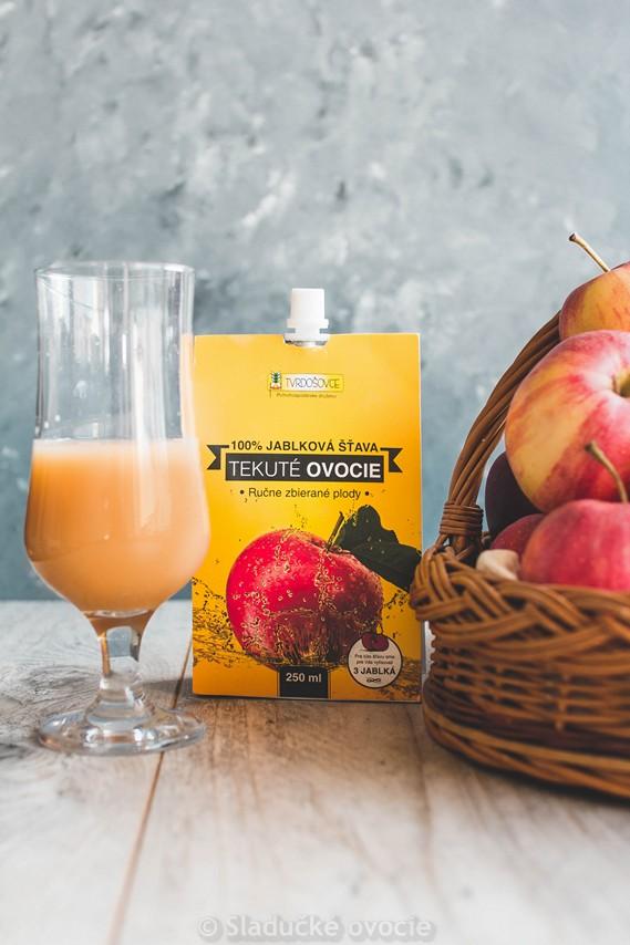 Ovocná šťava - 100 % Jablková šťava 0.25 l