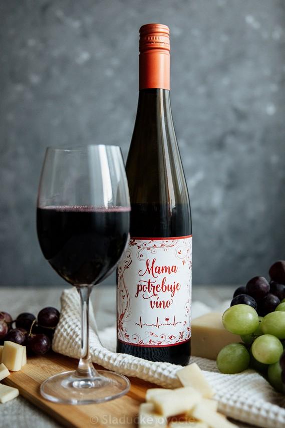 Svätovavrinecké - víno červené suché 0.75 l
