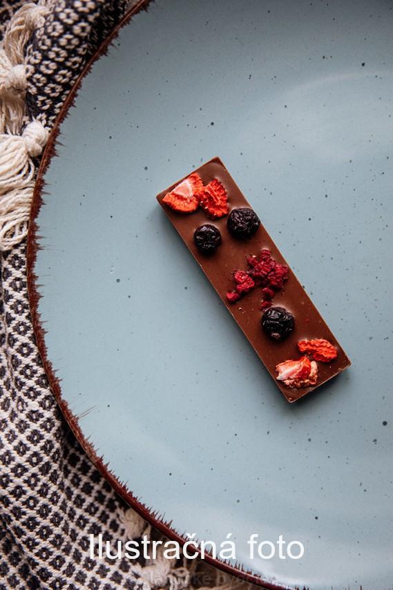 Tyčinka z horkej čokolády s ovocím 70% 30 g
